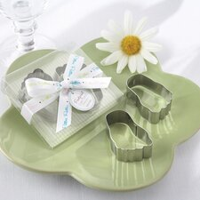 ''Pitter-Patter of Little Feet'' Baby Footprint Cookie Cutters
