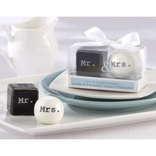 Mr. and Mrs. Ceramic Salt and Pepper Shaker (Set of 96)