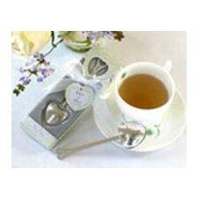 ''Tea Time'' Heart Tea Infuser Favor in Teatime Gift Box (Set of 96)