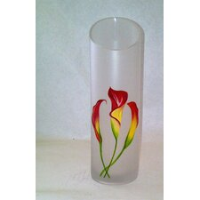 <strong>Womar Glass</strong> Calla Lily Vase