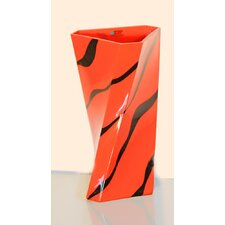 <strong>Womar Glass</strong> Zebra Vase