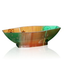 <strong>Womar Glass</strong> Holiday Bowl