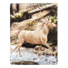 Horse Canyon Print Wash Towel