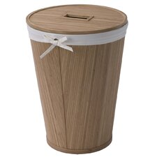 Round Hamper with Lid