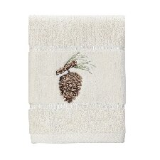 Northwoods Embroidered Washcloth