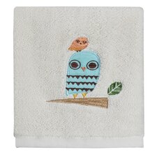 Give a Hoot Print Washcloth