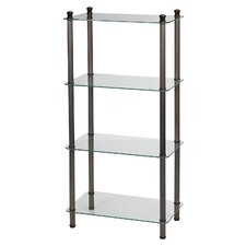 "20"" x 42"" 4 Shelf Wide Tower"