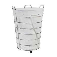 <strong>Creative Bath</strong> Rolling Hamper with Liner