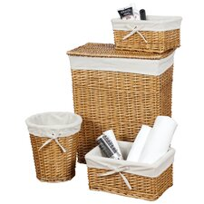Wickerwork's 4 Piece Hamper/Storage Set