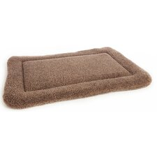 Machine Washable Rectangular Sherpa Fleece Dog Cushion Pad