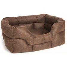 Machine Washable Heavy Duty Faux Leather Softee Dog Bed
