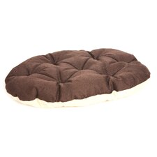 Machine Washable Oval Dog Cushion Pad