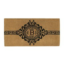 Majesty Monogram Doormat
