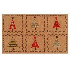 Christmas Trees Doormat