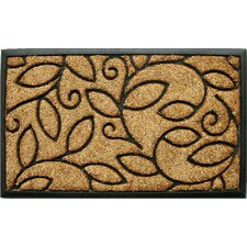<strong>Home & More</strong> Vine Leaves Doormat