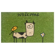 Cute Cow Doormat