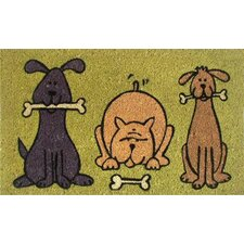 <strong>Home & More</strong> Doggie Fun Doormat