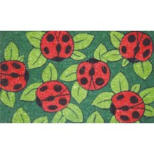 <strong>Home & More</strong> Ladybugs Doormat
