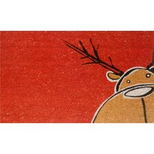 <strong>Home & More</strong> Christmas Moose Doormat