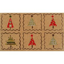 <strong>Home & More</strong> Christmas Trees Doormat