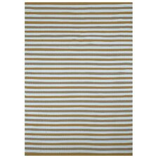 Beige Stripe Area Rug