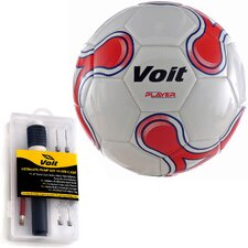 Player Soccer Ball with Ultimate Inflating Kit