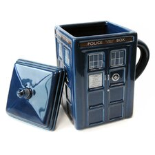 Doctor Who 17 oz. Figural Tardis Mug