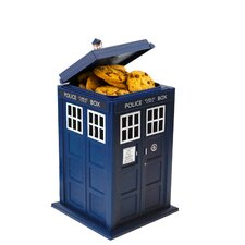 Doctor Who Tardis Talking Cookie Jar