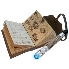 Doctor Who Journal of Impossible Things and Mini Sonic Screwdriver Pen