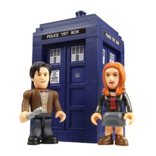 <strong>Underground Toys</strong> Doctor Who Tardis Mini Construction Playset