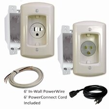 Single Solution In-Wall Power Extension Kit