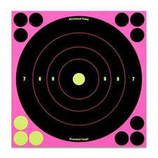 "<strong>Birchwood Casey</strong> 8"" Shoot NC Bull's-Eye Practice Target (6 pack)"