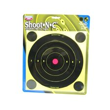 "<strong>Birchwood Casey</strong> Shoot-N-C 8"" Bull's Eye Round Target (6 Per Pack)"