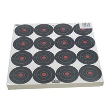 "Dirty Bird 3"" Bull's Eye Paper Target (100 Per Pack)"