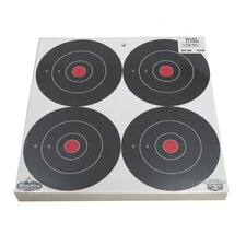 "<strong>Birchwood Casey</strong> Dirty Bird 6"" Bull's Eye Splattering Paper Target"