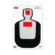 "Dirty Bird 12""x18"" BC19 Silhouette Target (8 Per Pack)"