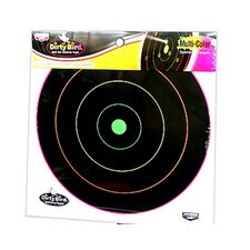 "Dirty Bird 12"" Multicolor Target (10 Per Pack)"