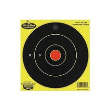 "Dirty Bird 12"" Chartreuse Bull's Eye Target (16 Per Pack)"