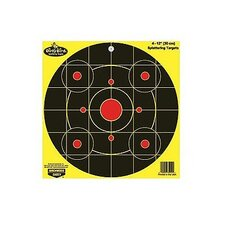 "Dirty Bird 12"" Chartreuse Bull's Eye Target (4 Per Pack)"
