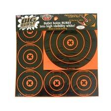 "4"" and 8"" Round Big Burst Target"