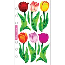 Vellum Tulips Sticker