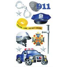 Foil Police Sticker