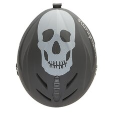 <strong>Lucky Bums</strong> Kid's Skull Snow Sport Helmet with Fleece Liner