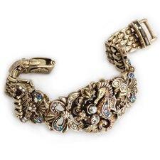 Art Deco Seahorse Mesh Bracelet