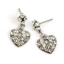 Queen of Hearts Crystal Earrings