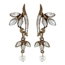 1940s Vine Earrings