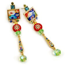 Tango Candy Glass Retro Earrings