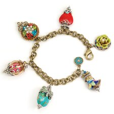 My Trip to Cabo Gemstone Charm Bracelet