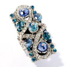 Crystal Rectangular Ring