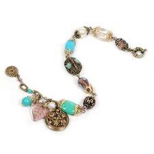 Garden Gemstone Beaded Bracelet
